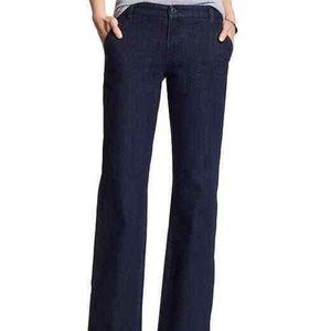 Banana Republic Trouser Straight Leg Jeans